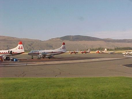 Kamloops Airport, B.C.