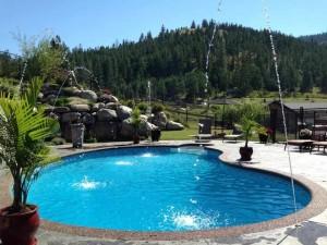 5833 TODD ROAD Pool acreage property