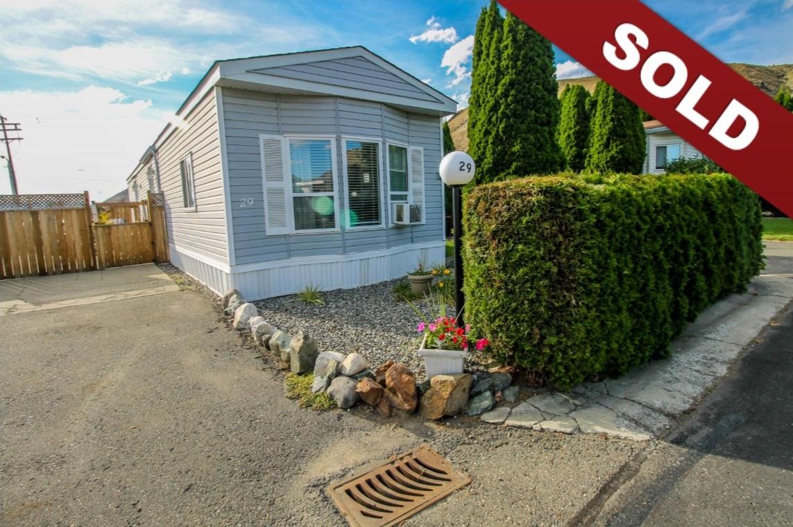 New Listing: 29-1525 Ord Road, Brocklehurst, Kamloops, BC $234,900