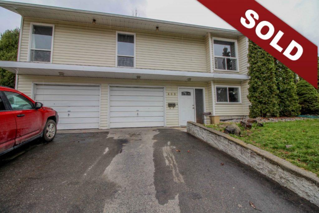New Listing: 403 Gleneagles Drive, Sahali, Kamloops, BC $399,000