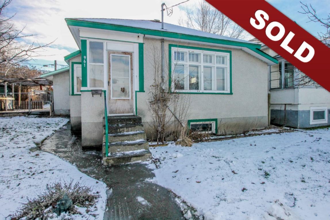 New Listing: 961 Columbia Street, South Kamloops, BC $329,900