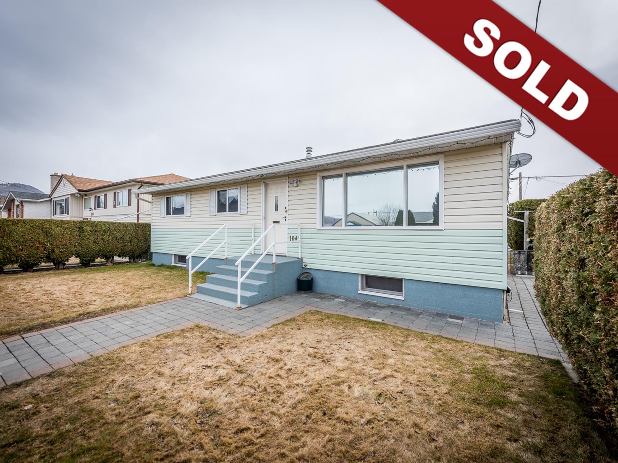 1047 Selkirk Ave, Brockelhurst, Kamloops Real Estate Sold
