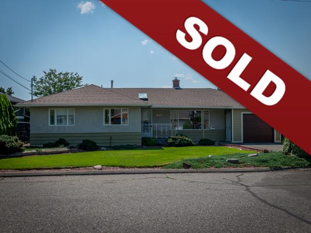 645 Regina Ave, North Kamloops, Real Estate Sold